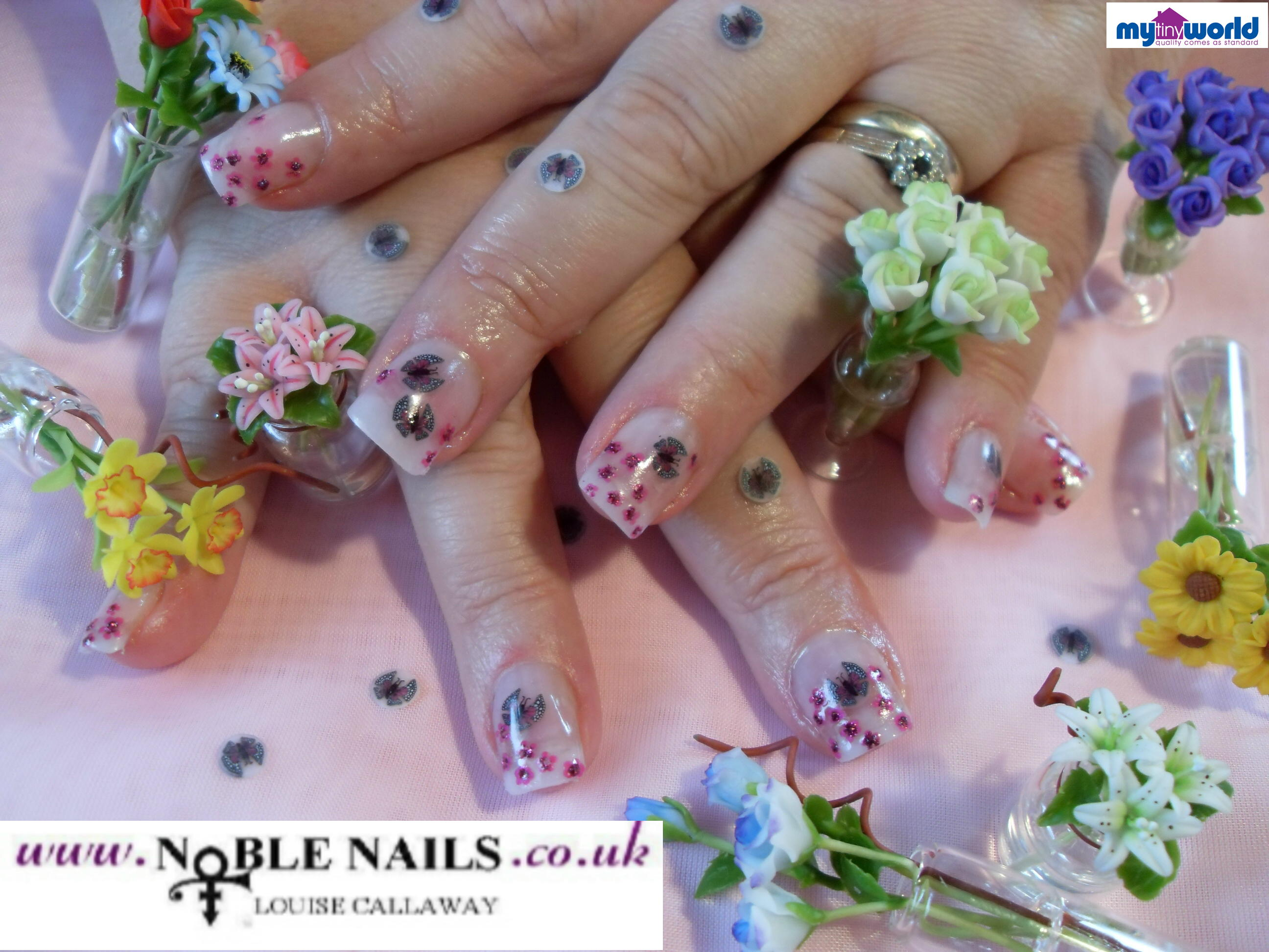 LOUISE CALLAWAY - LOUISE CALLAWAY @ NOBLE NAILS
